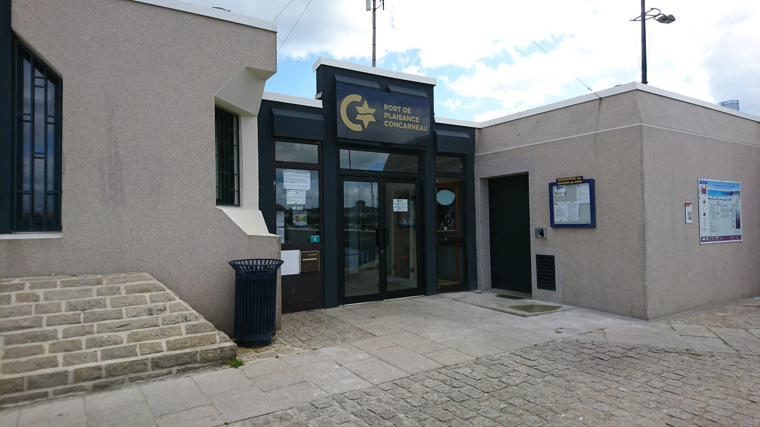 Services Du Port De Plaisance De Concarneau, Station ... destiné Piscine Concarneau Horaires