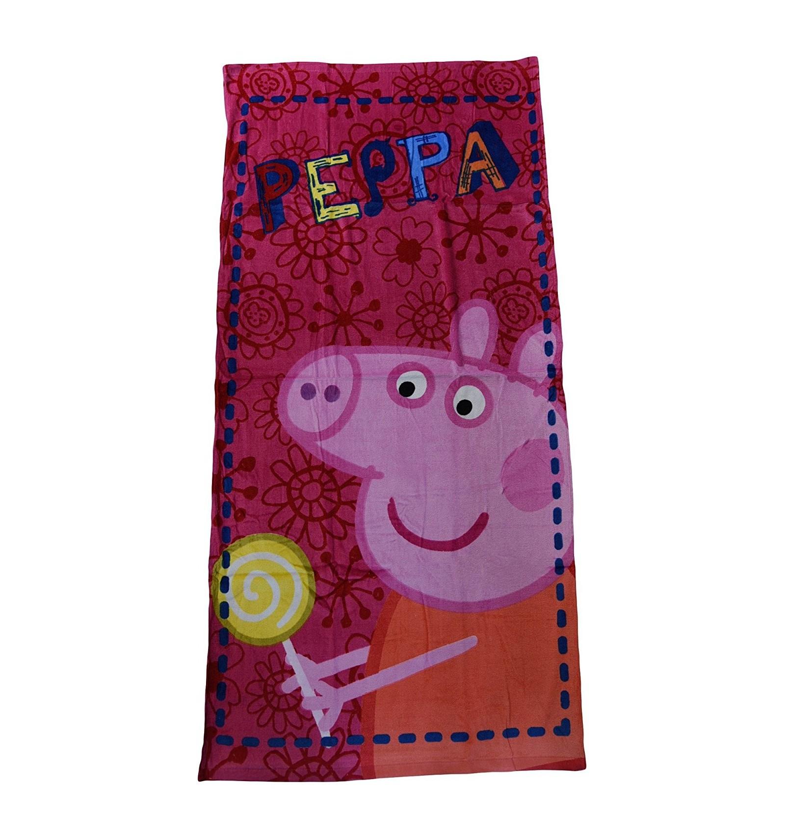 Serviette De Plage Et Piscine Peppa Pig Towel Pour Les Enfants Pp-09008 pour Peppa Pig À La Piscine
