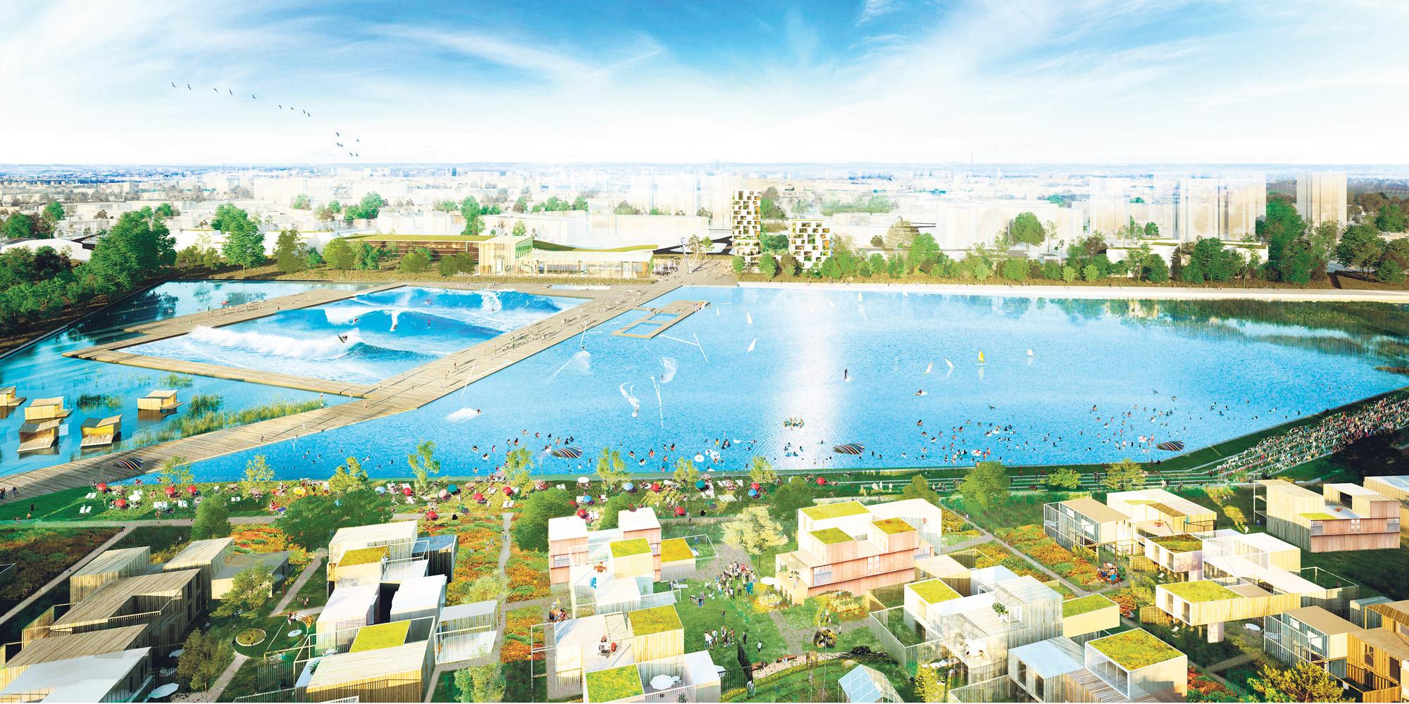 Sevran : Une Base De Loisirs Futuriste Va Voir Le Jour D'ici ... pour Piscine De Sevran