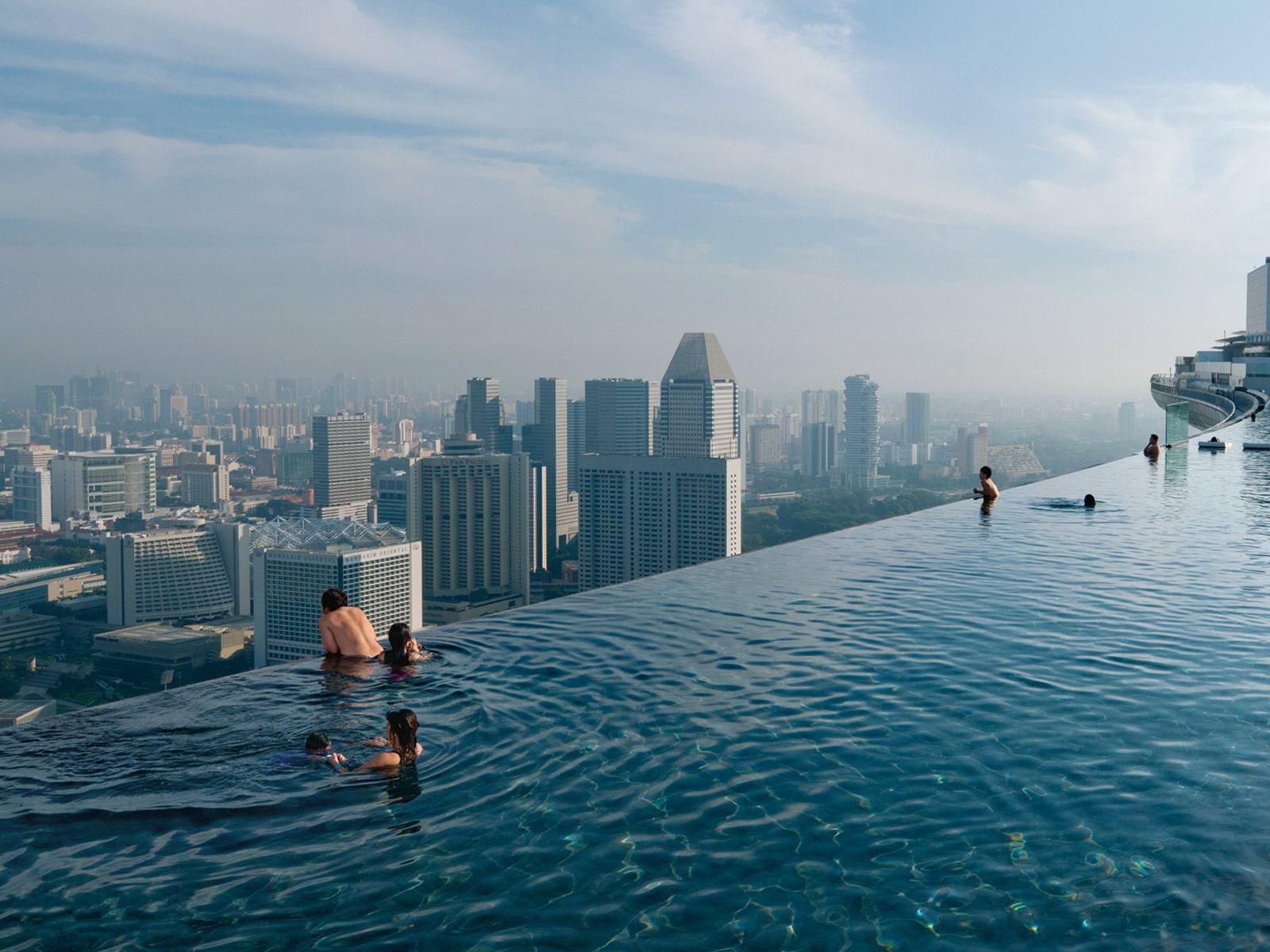 Singapore Marina Bay Sands | Singapour, Piscines De Rêve ... serapportantà Piscine Singapour