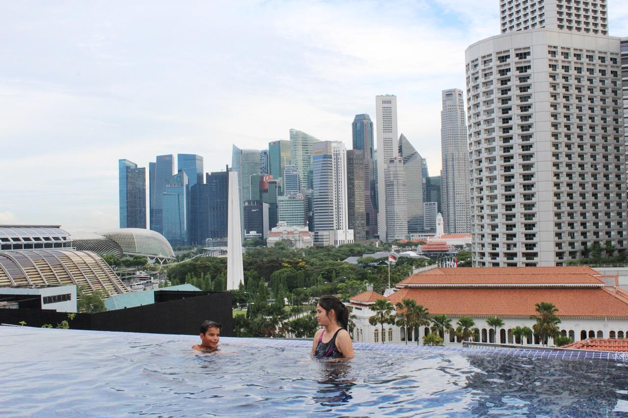 Singapour En Famille: 5 Jours Avec Ados | Blog Voyages Et ... encequiconcerne Piscine Singapour