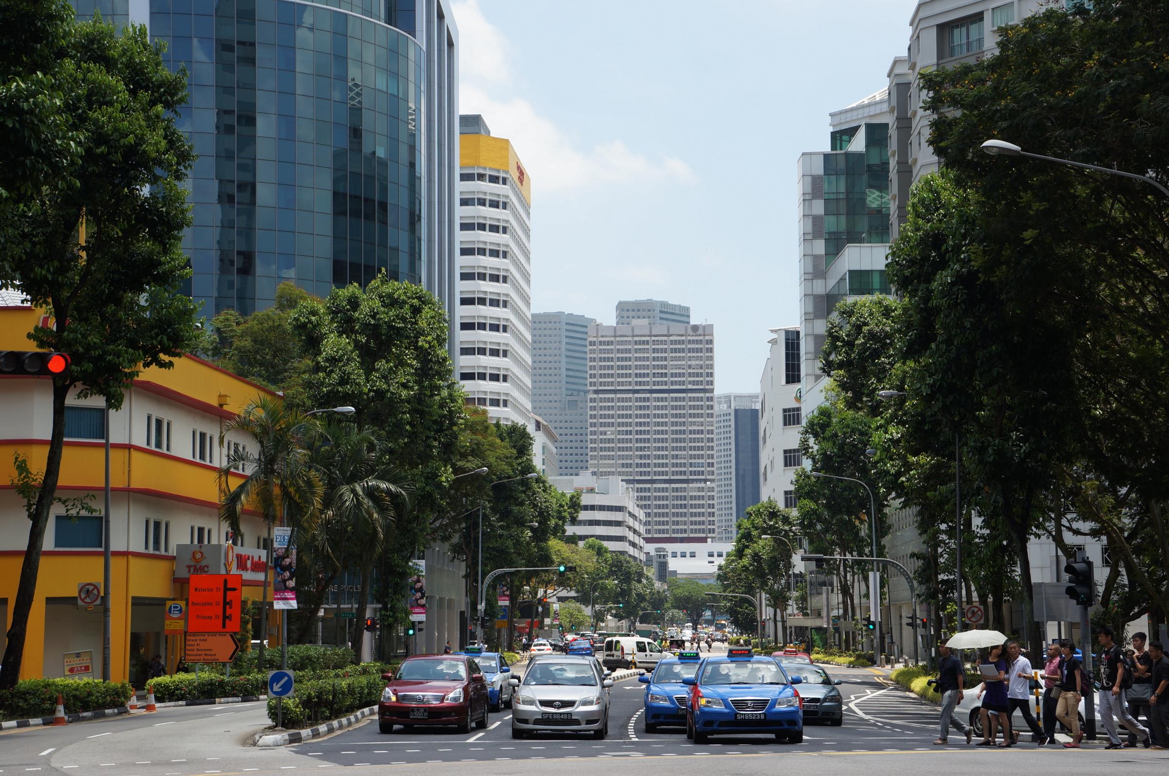 Singapour - Karine Et Hafedh à Piscine Singapour