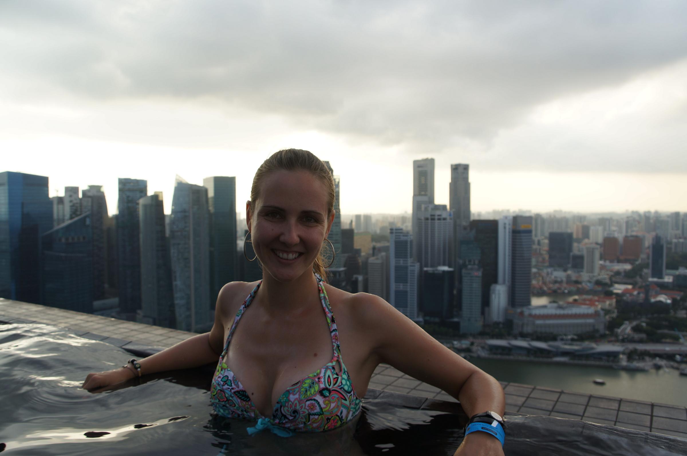 Singapour - Karine Et Hafedh dedans Piscine Singapour