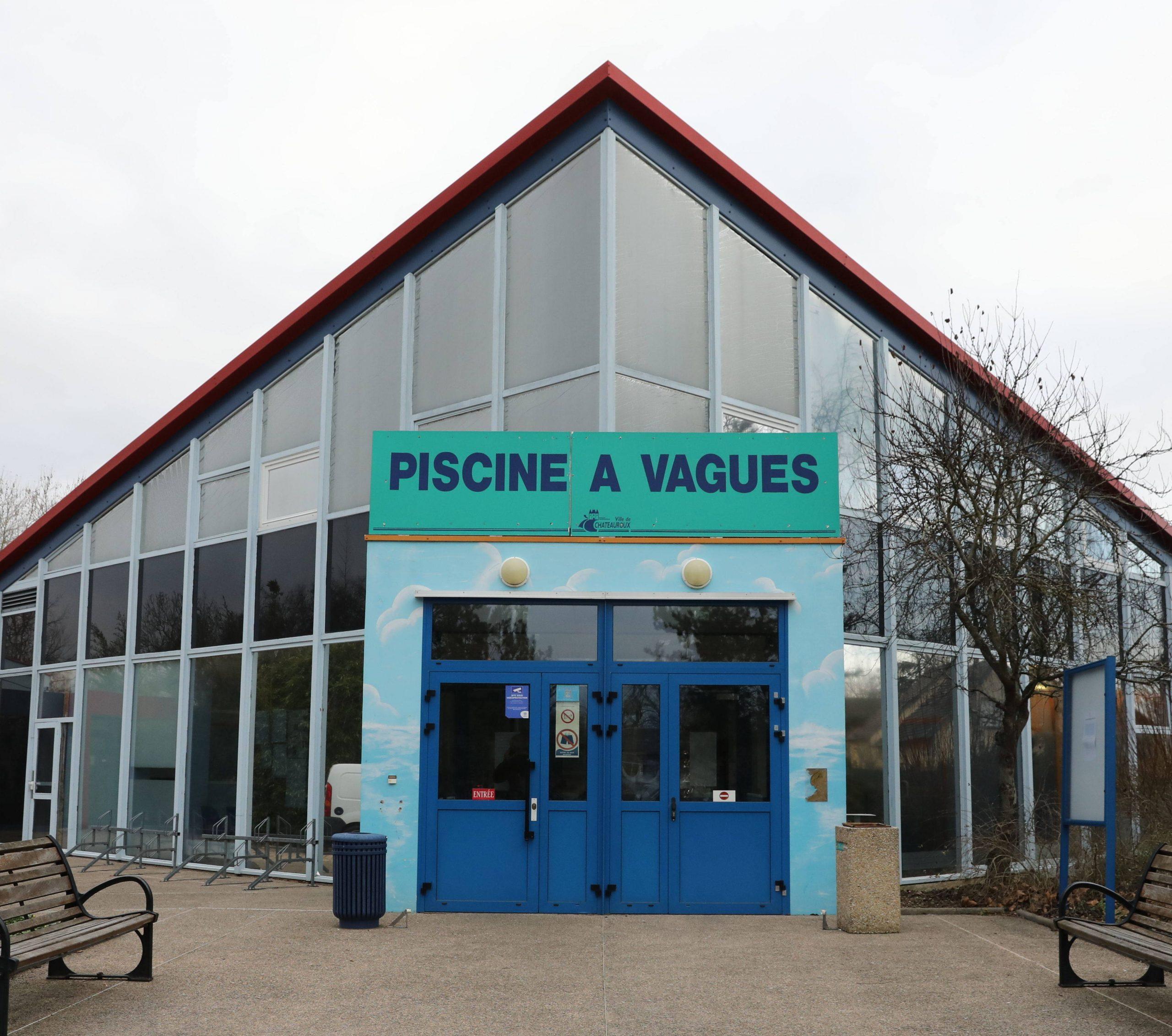 Site De La Piscine De Châteauroux : Le Maire Met Le Privé Au ... serapportantà Piscine A Vague Chateauroux