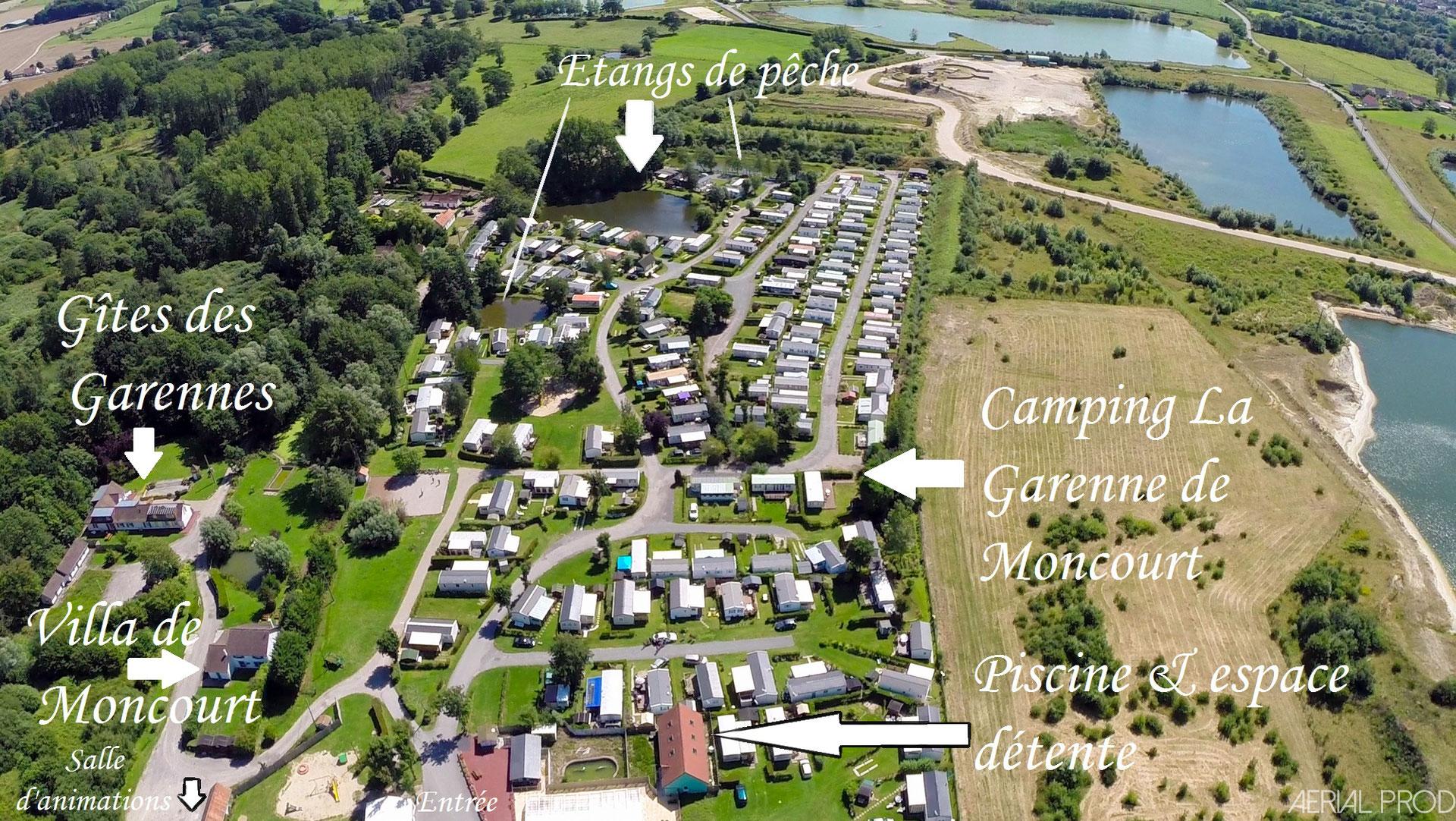 Site Officiel - Camping La Garenne De Moncourt En Baie De Somme tout Lentilles Piscine