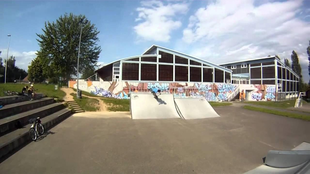 Skate Park De Saverne 2012 (Jean Morel) Partie 2 - encequiconcerne Piscine De Saverne