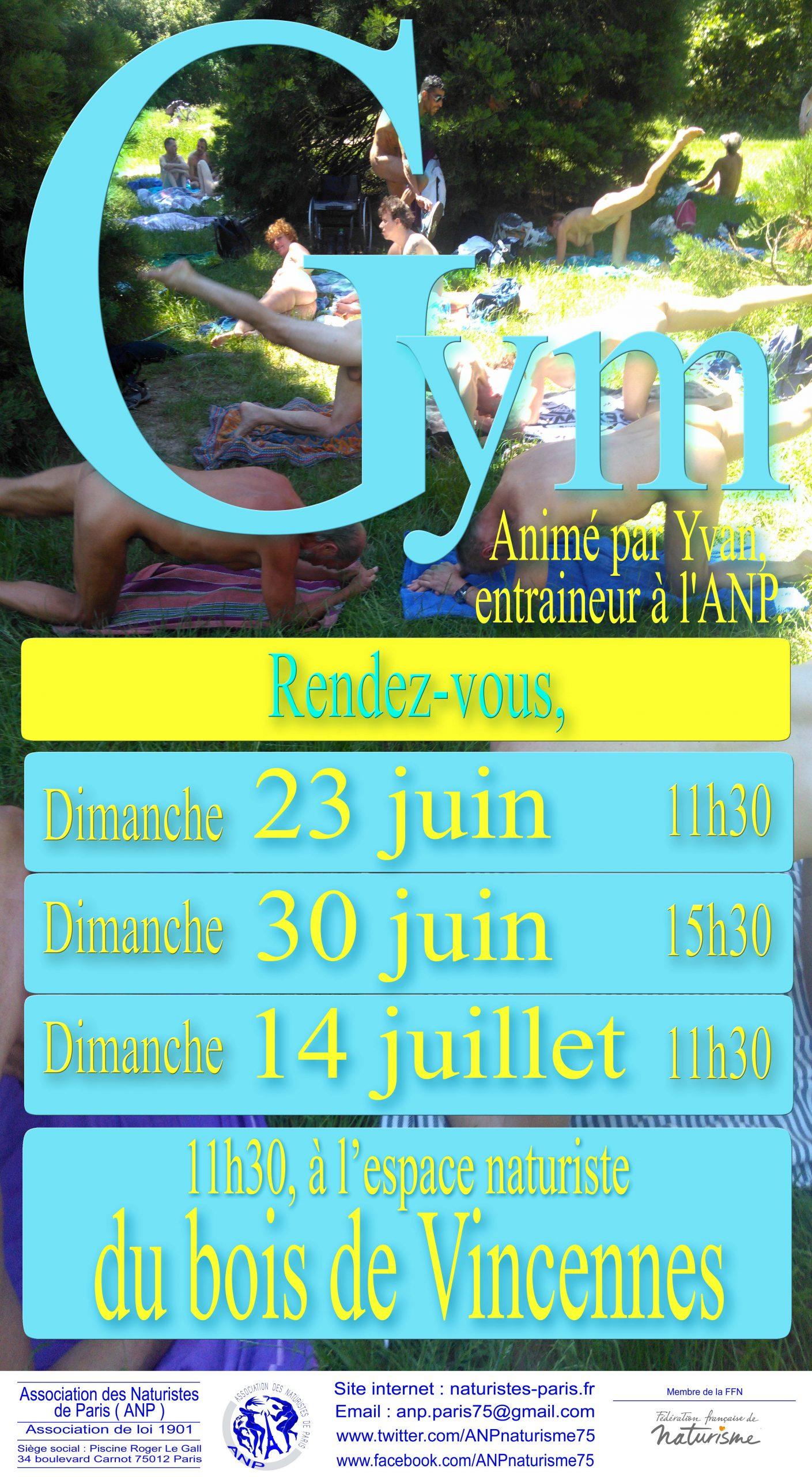 Sletter – Juillet 2019 – Association Des Naturistes De Paris à Piscine Roger Le Gall Naturiste