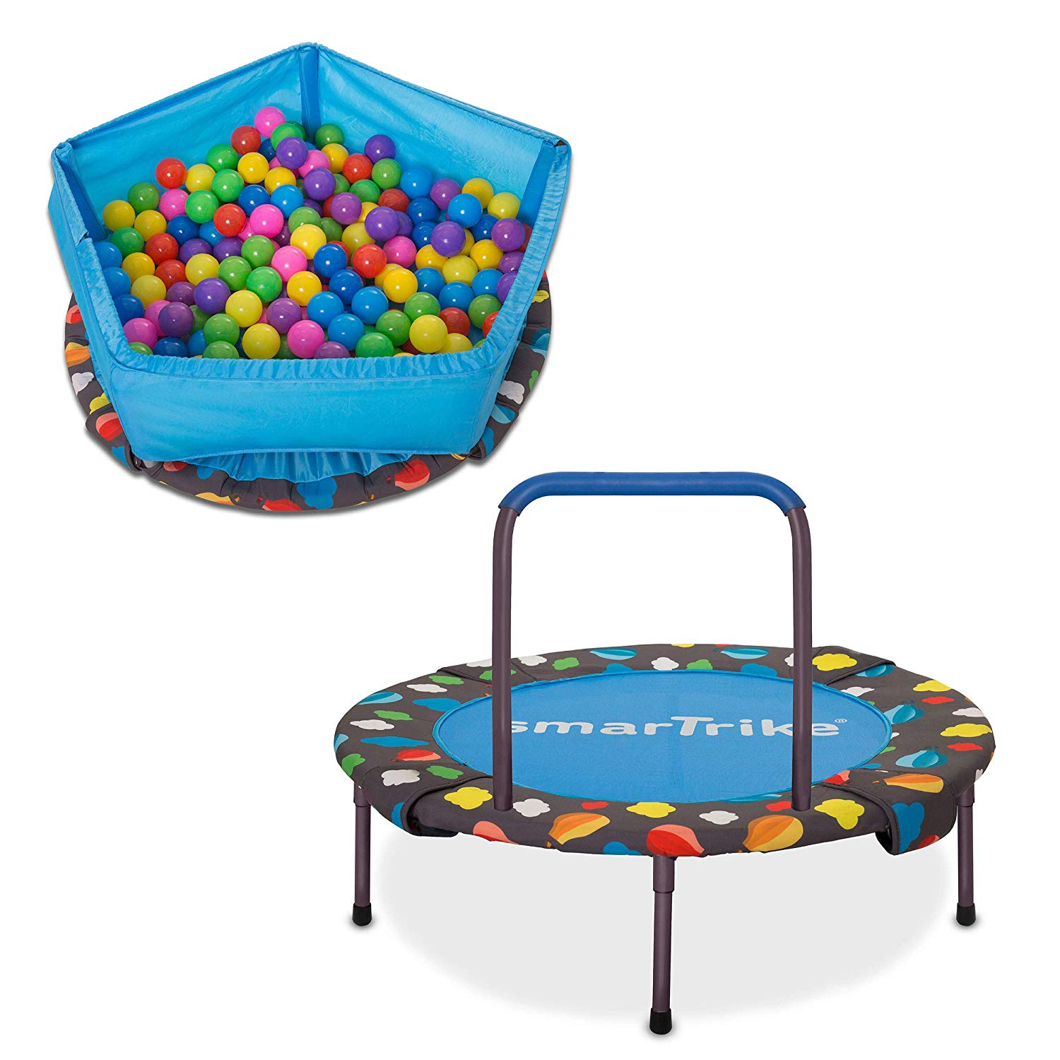 Smartrike 3 In 1 Trampoline, Ball Pit & Activity Centre concernant Piscine A Balle Toysrus