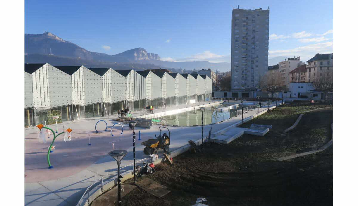 Société | Chambéry : La Nouvelle Piscine Ouvrira À La Saint ... tout Piscine Chambery