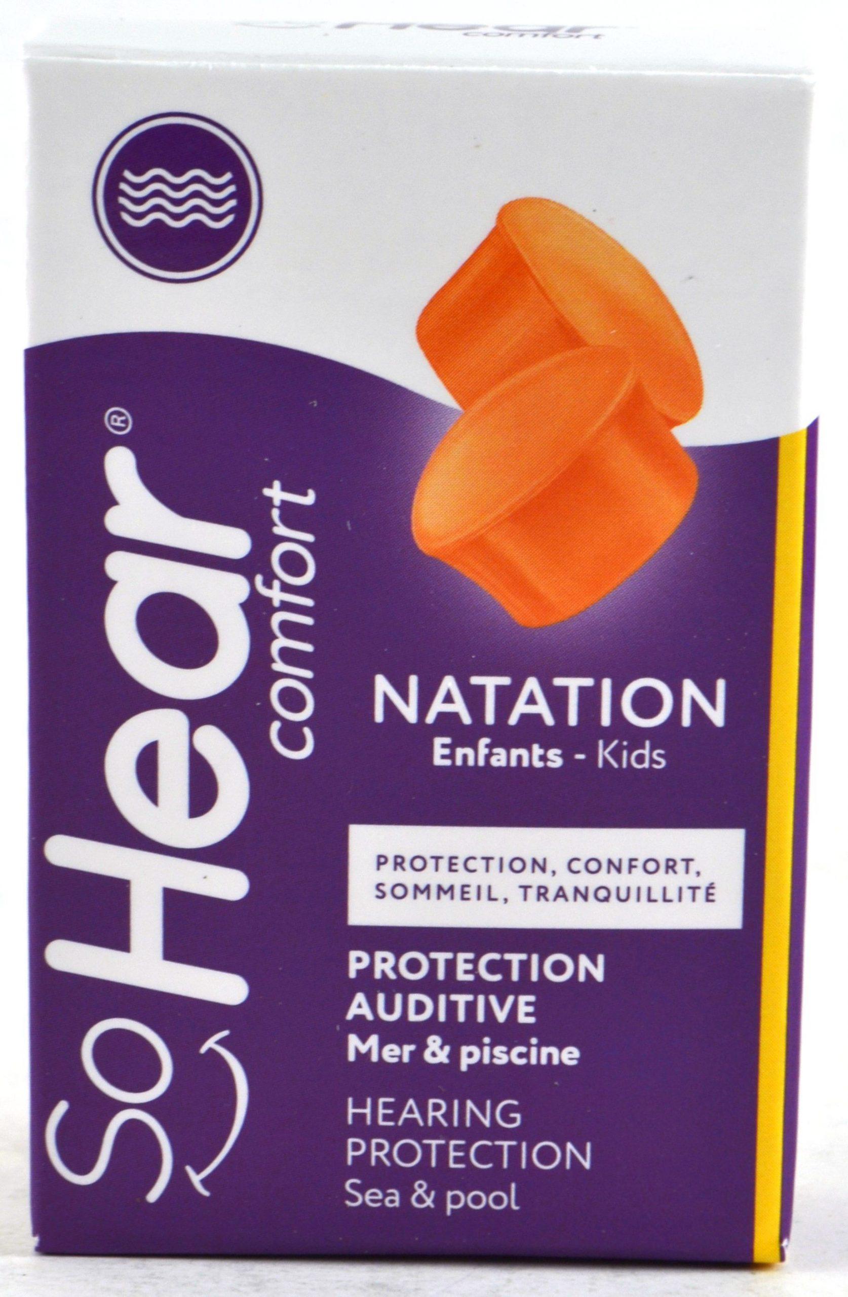 Sohear Comfort Protection Auditive - Natation Enfants - 3 ... pour Oreille Bouchée Piscine