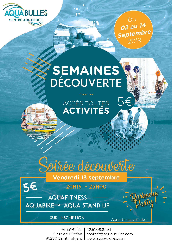 Soirée Découverte - Aqua°Bulles - Cd 85 concernant Piscine Saint Fulgent