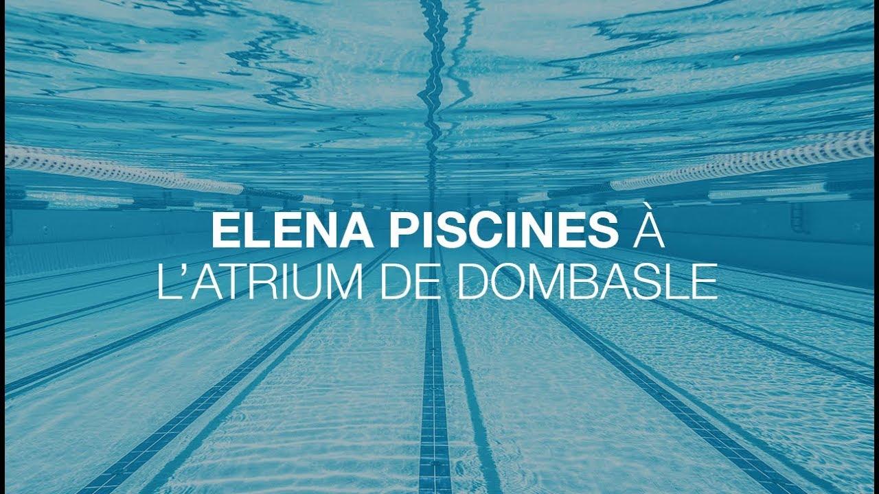 Solution | La Solution Elena Piscines À L'atrium De Dombasle serapportantà Piscine Dombasle