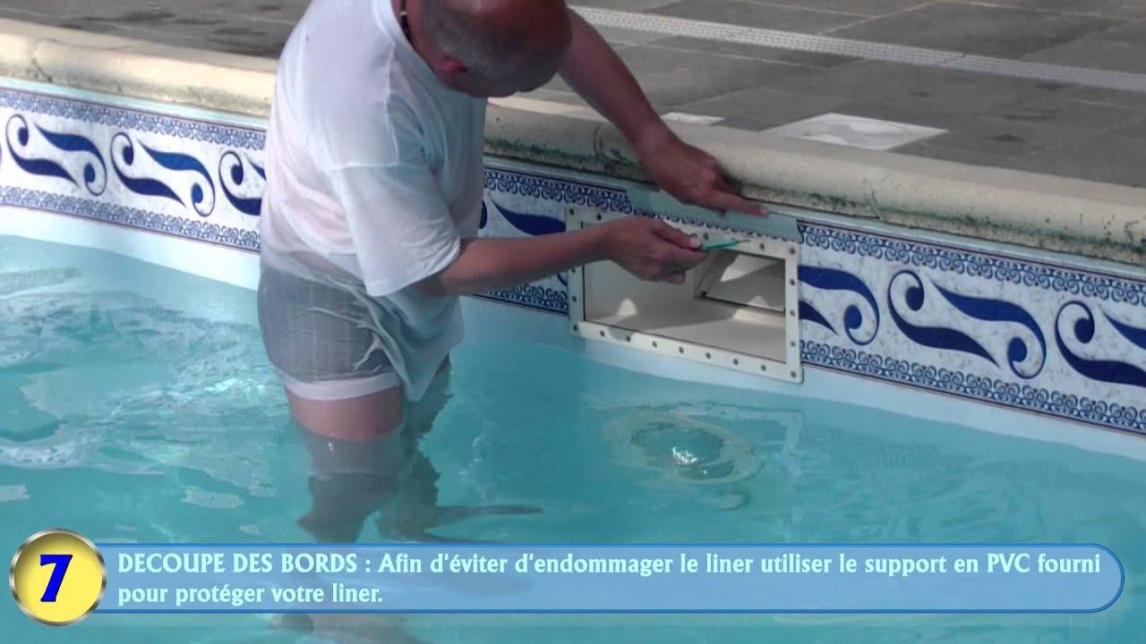 """Solution """"ligne D'eau"""" Piscine / Swimming Pool Border intérieur Ligne D Eau Piscine"""