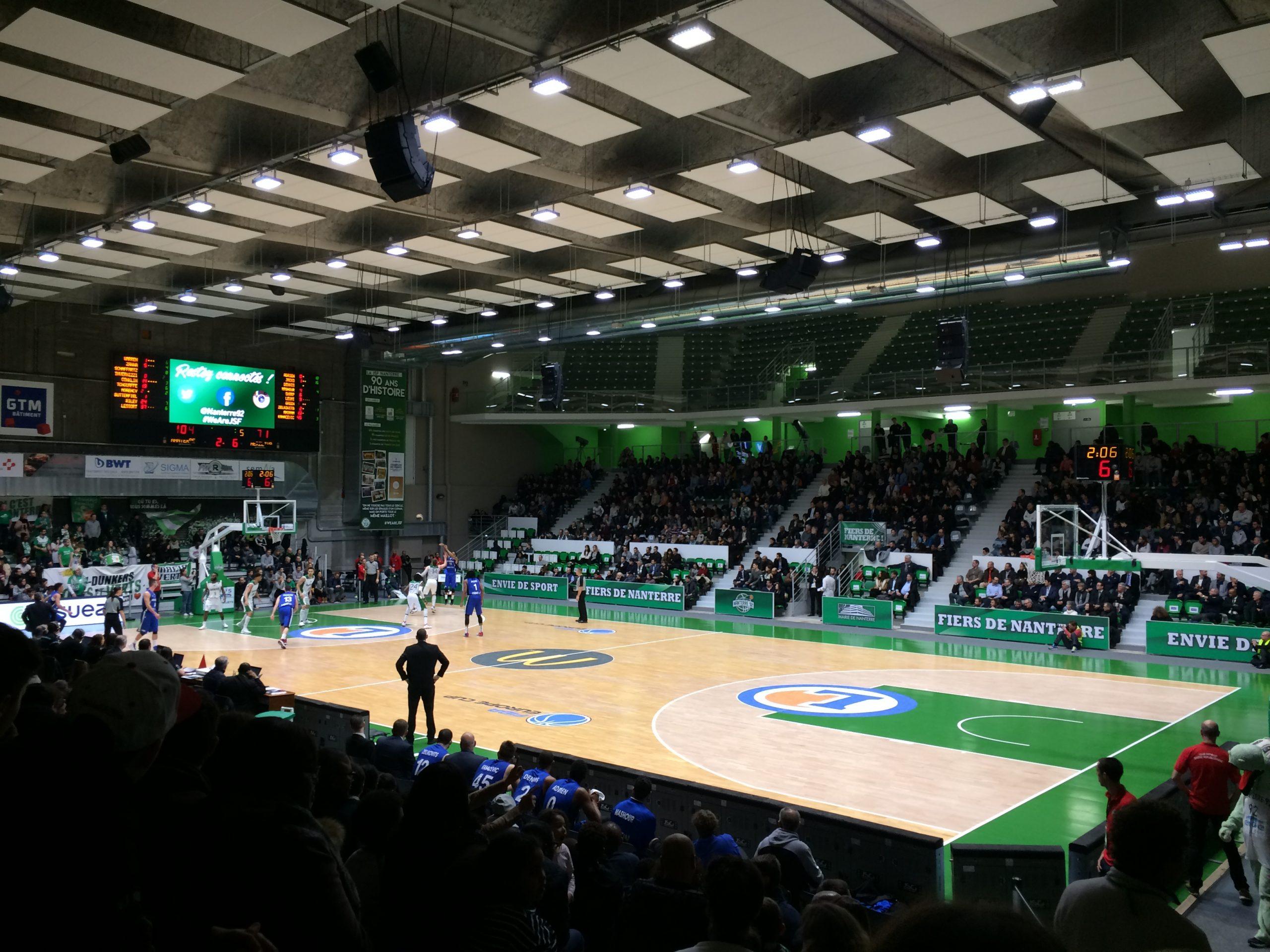 Sortie As Au Palais Des Sports De Nanterre - Collège Victor Hugo destiné Piscine Du Palais Des Sports À Nanterre Nanterre