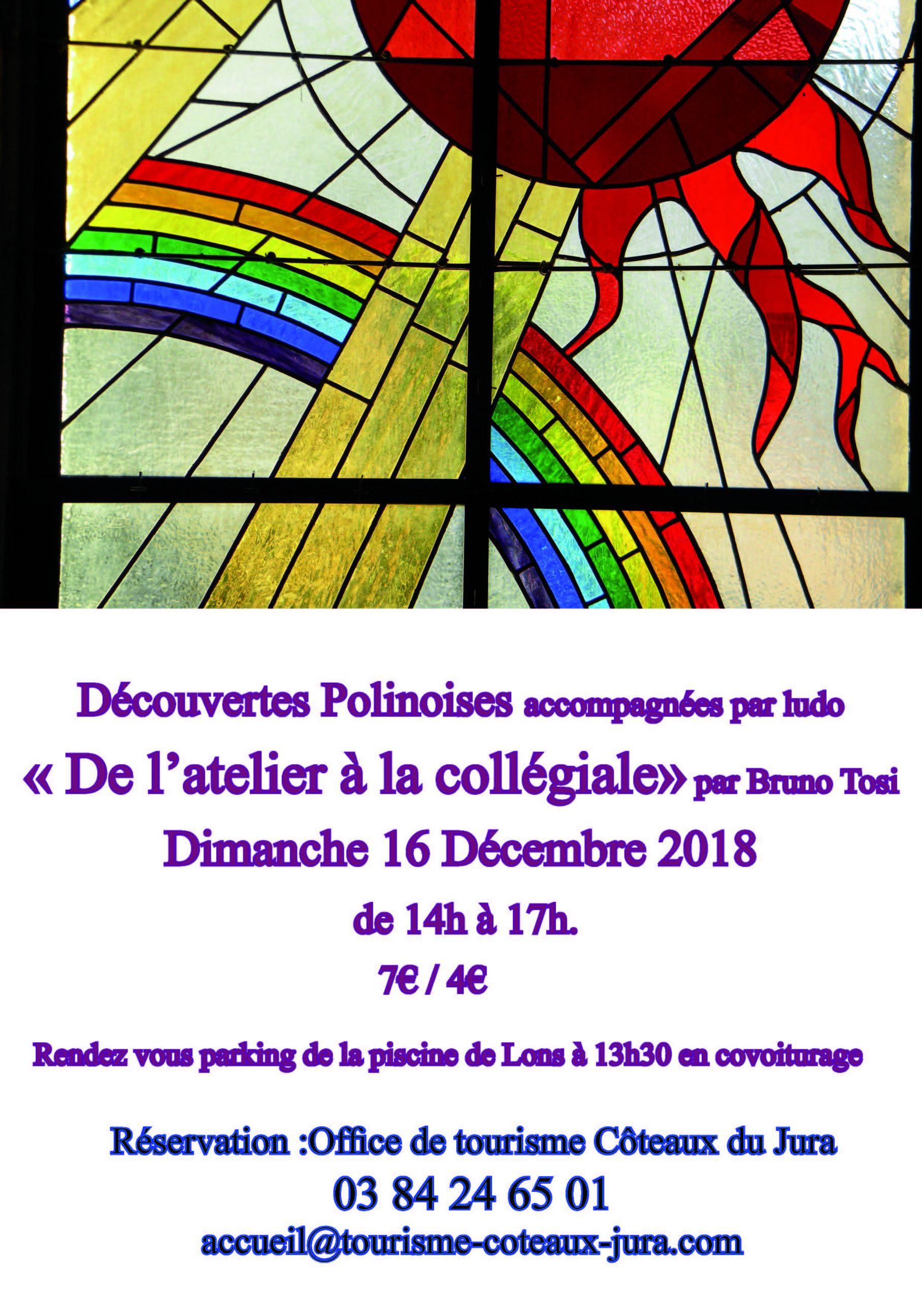 """Sortie """"de L'atelier À La Collégiale"""" À Lons-Le-Saunier ... pour Piscine Aquarel Lons"""