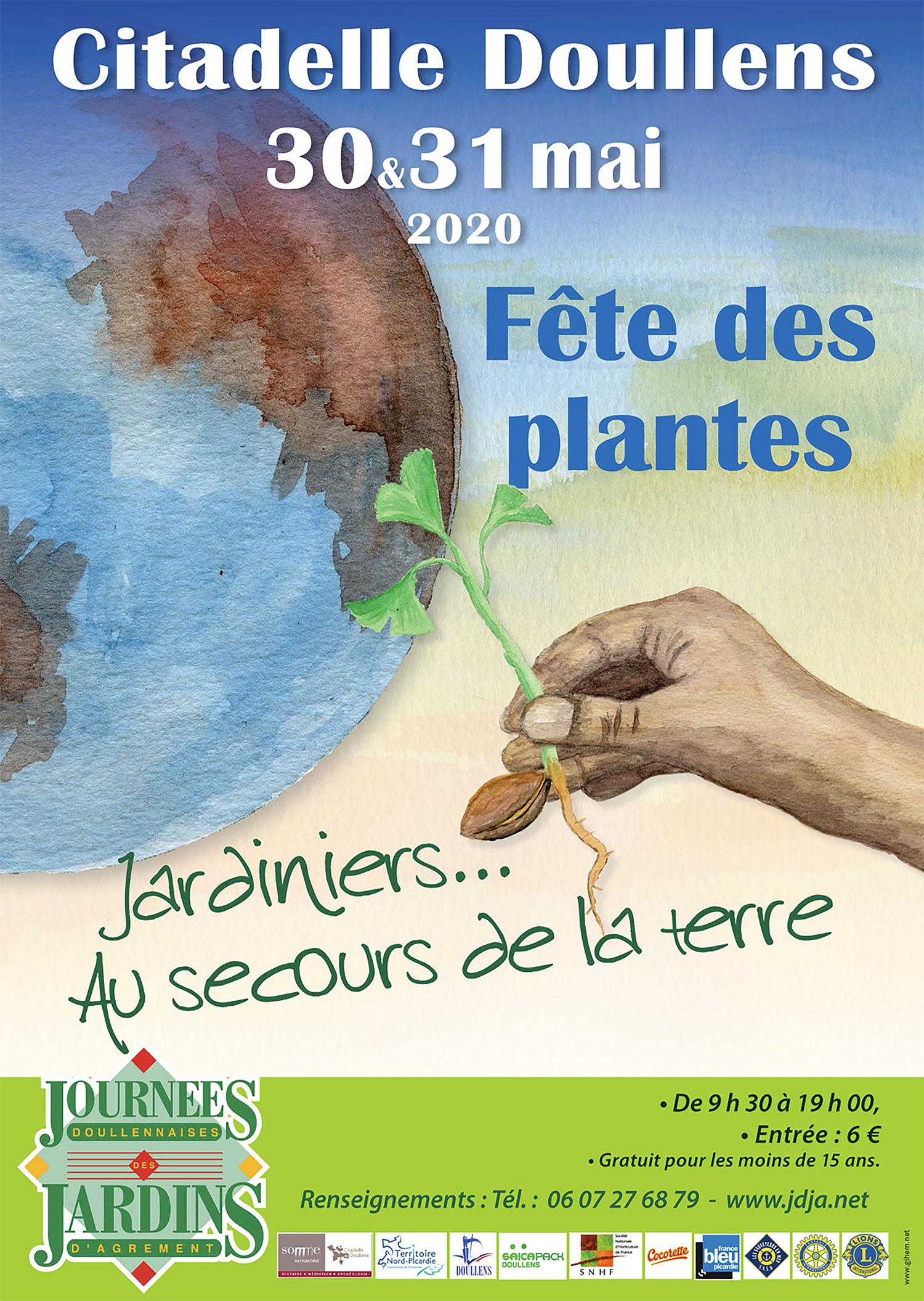 Source-A-Id - Citadelle De Doullens / Journées Des Jardins 2020 à Piscine Doullens