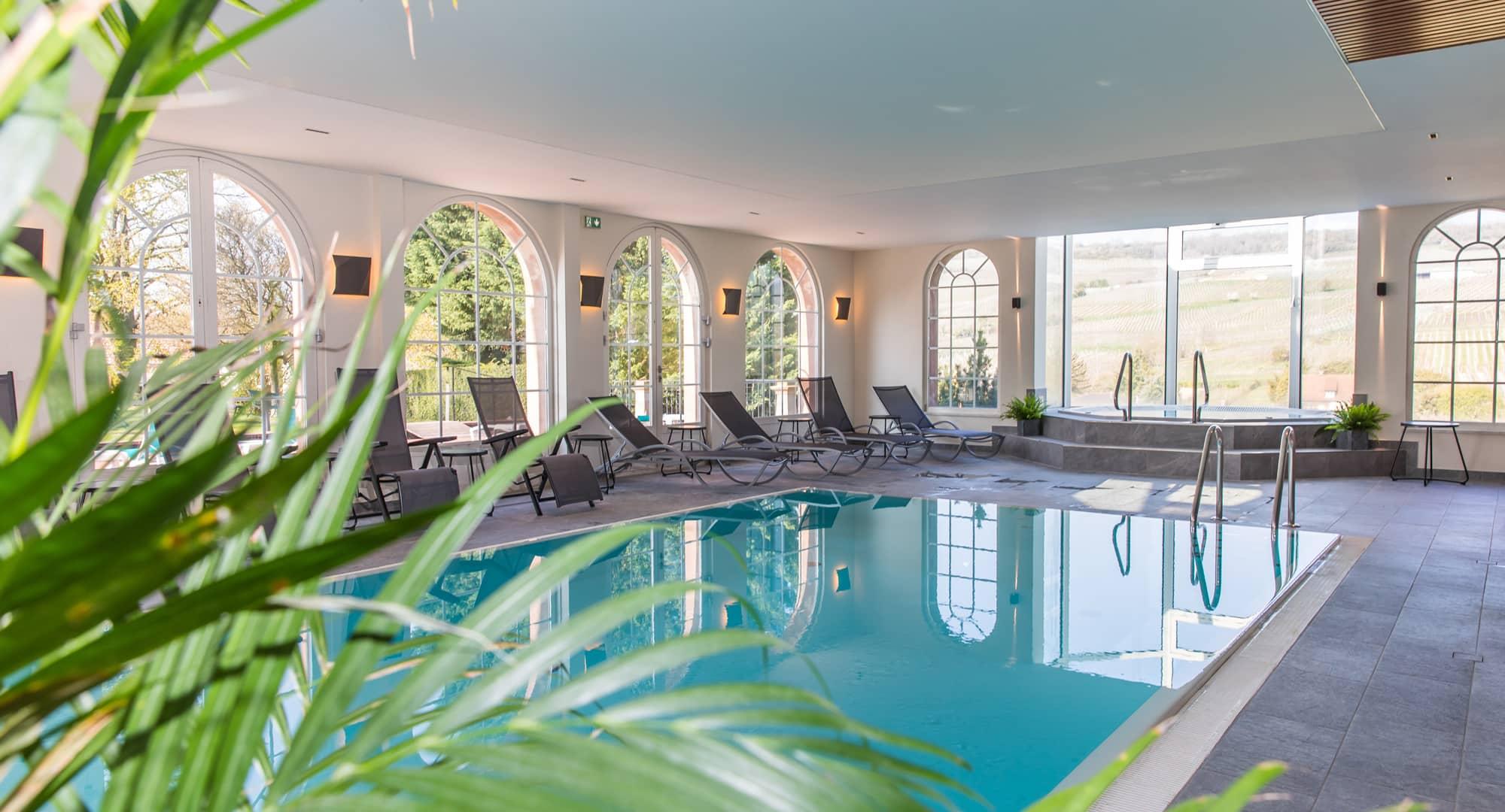 Spa De L'hôtel Chateau D'isenbourg À Rouffach, Alsace -Officiel pour Piscine Rouffach