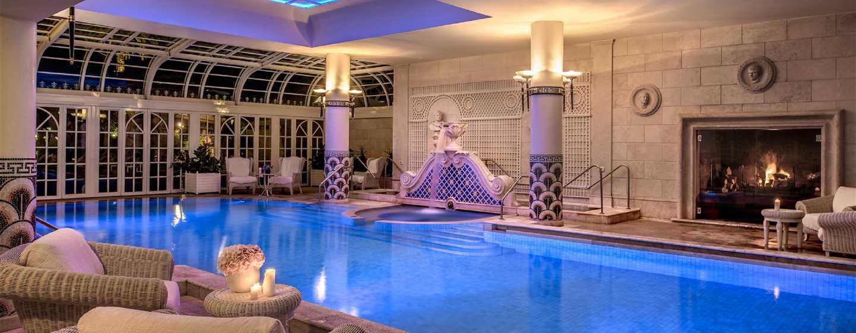 Spa De Luxe À Rome - Hôtel Rome Cavalieri, A Waldorf Astoria ... à Hotel Rome Avec Piscine