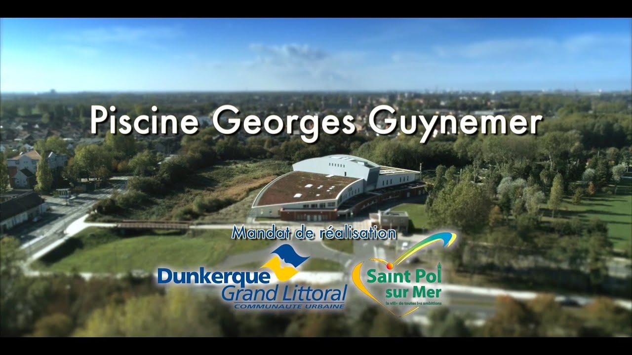 Spad - Piscine Guynemer.version 2020-Hd 1080P ©Wedroneu2020 serapportantà Piscine Saint Pol Sur Mer