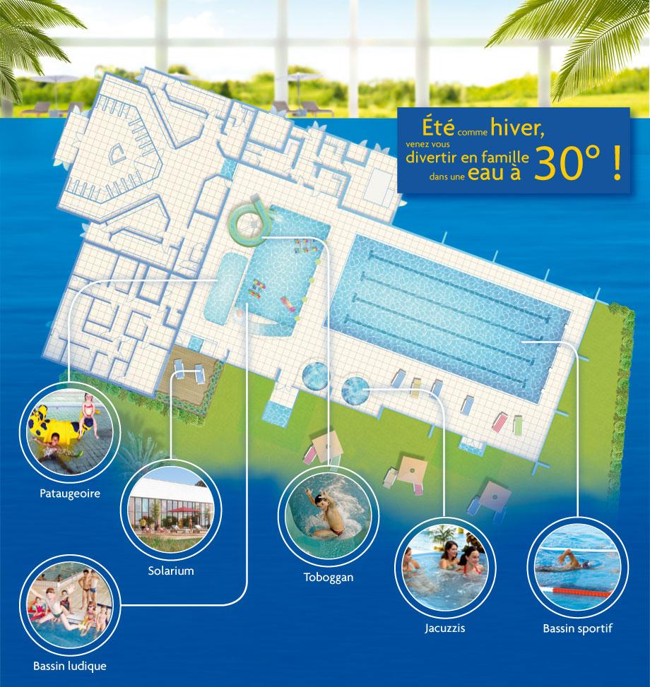 Spadium De Salles En Gironde (33) – Complexe Aquatique ... destiné Piscine Lesneven Horaire