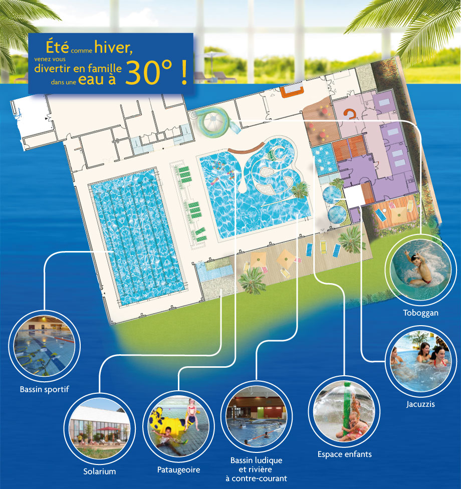 Spadium Lesneven Abers Complexe Aquatique, Piscine Et Centre ... avec Piscine Lesneven Horaire