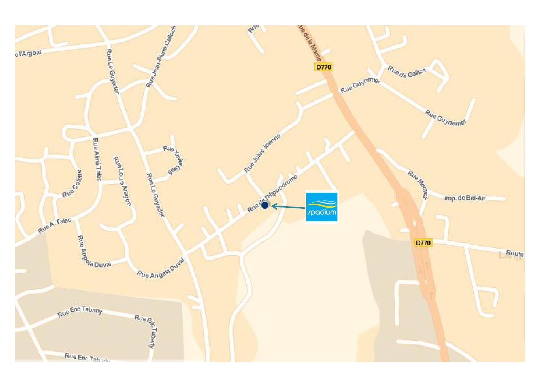 Spadium Lesneven Abers Complexe Aquatique, Piscine Et Centre ... pour Piscine Lesneven Horaire