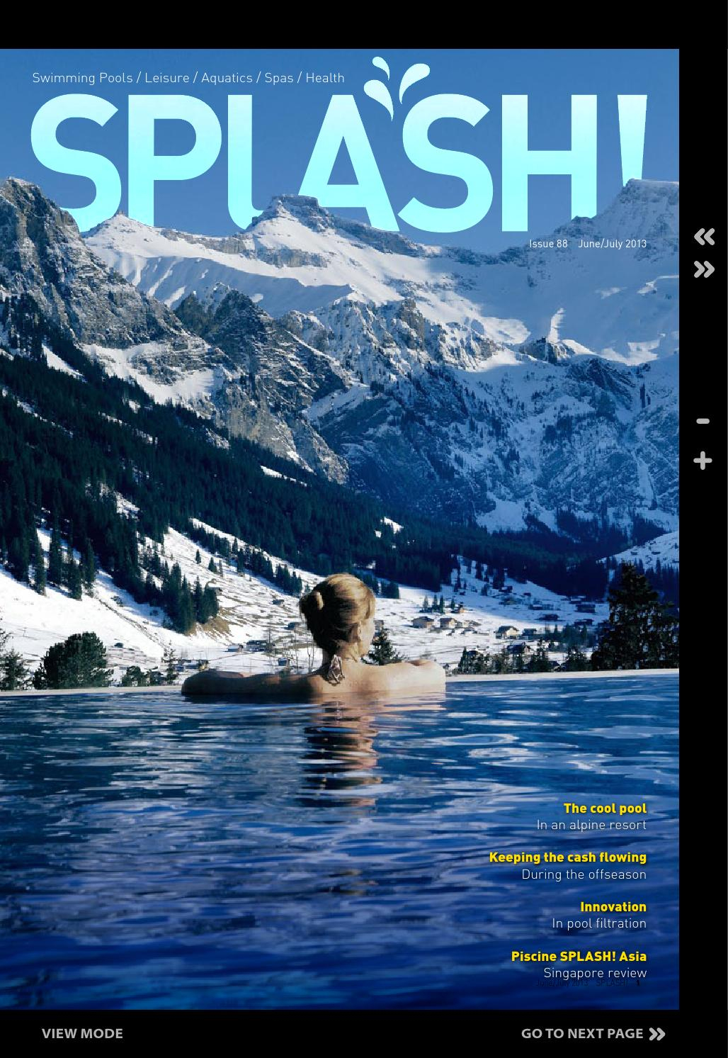 Splash June Edition 2013 By Phil_Intermedia - Issuu destiné Zeolite Piscine