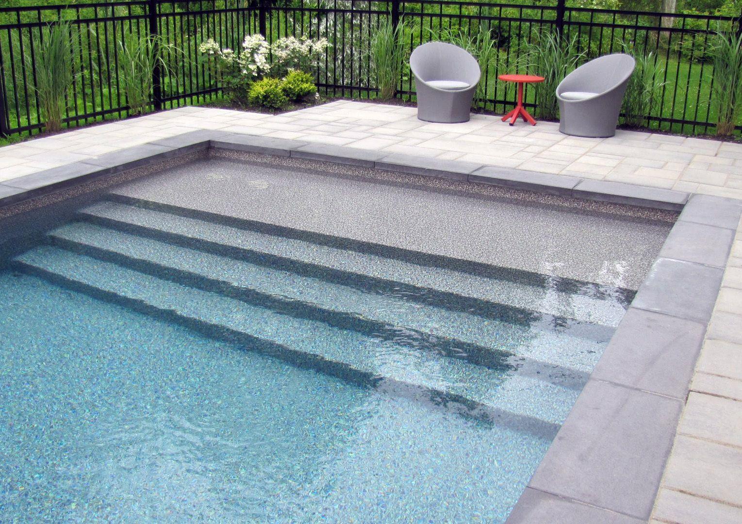 Splendide Entrée De Piscine Creusée. #piscine #creusee #pool ... pour Piscine Creusé