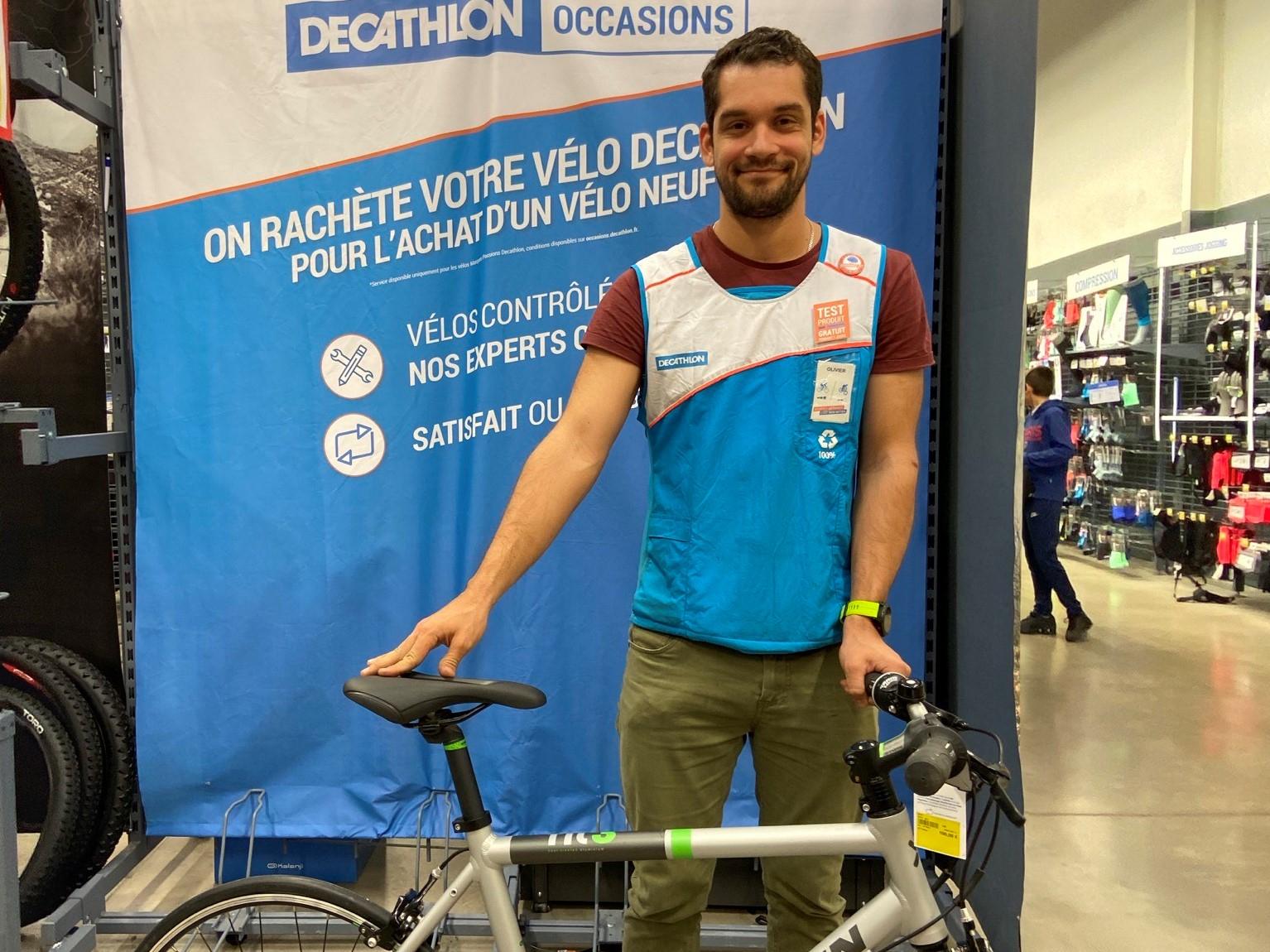 Sport] Décathlon Lance Son Service De Vélo D'occasion ... intérieur Velo Piscine Decathlon