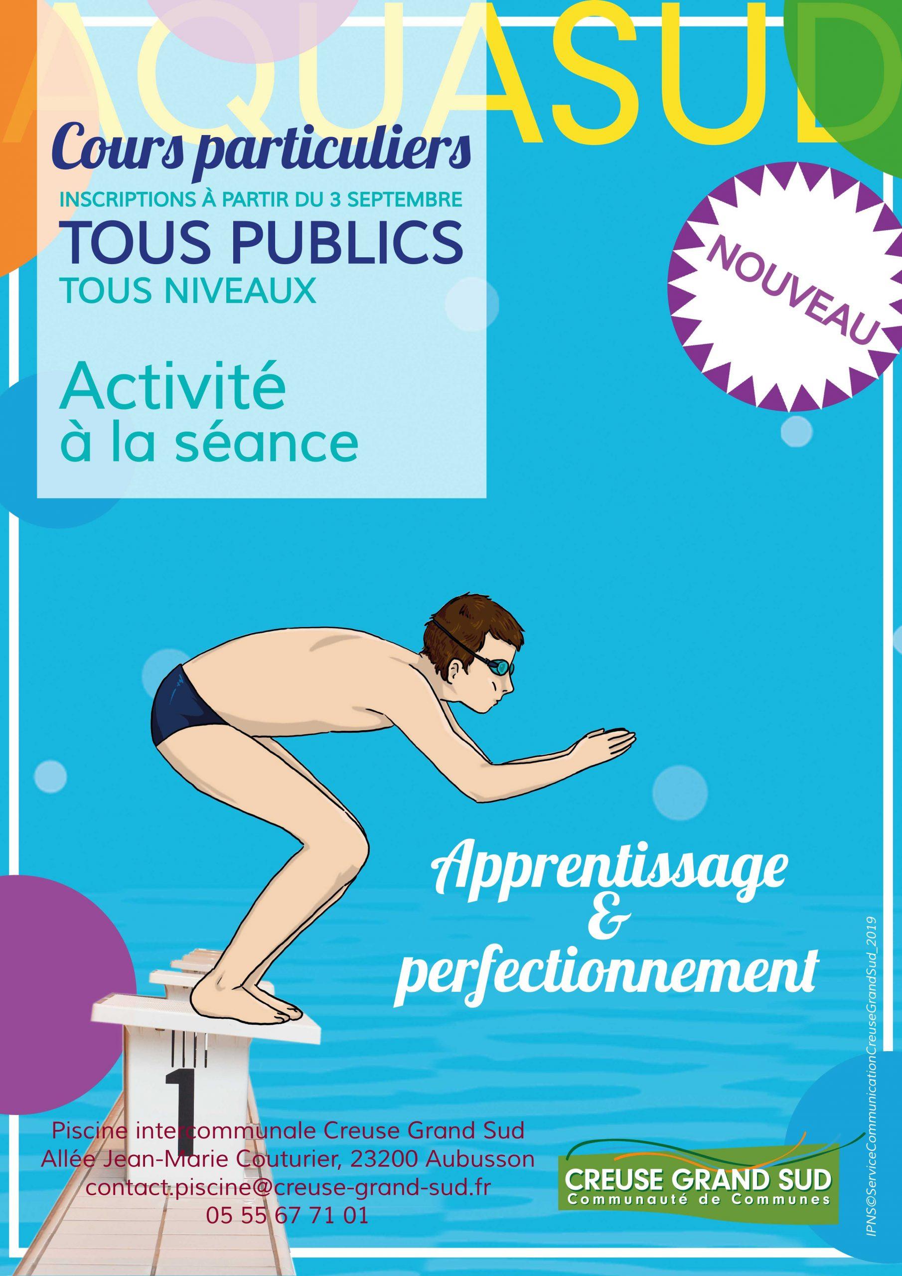 Sports Aquatiques – Piscine Aquasud | Communauté De Communes destiné Piscine Aubusson
