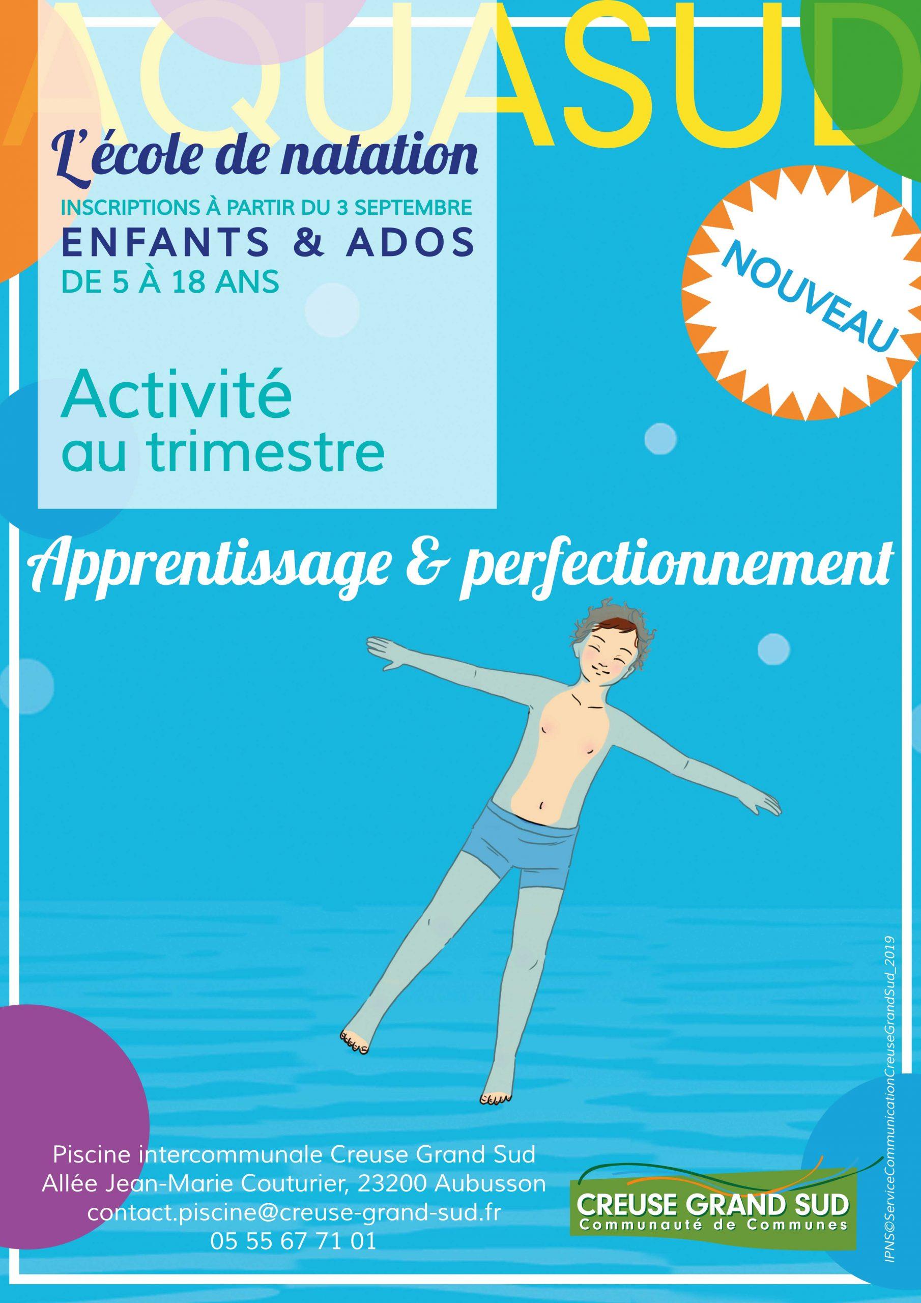 Sports Aquatiques – Piscine Aquasud   Communauté De Communes intérieur Ceinture Piscine