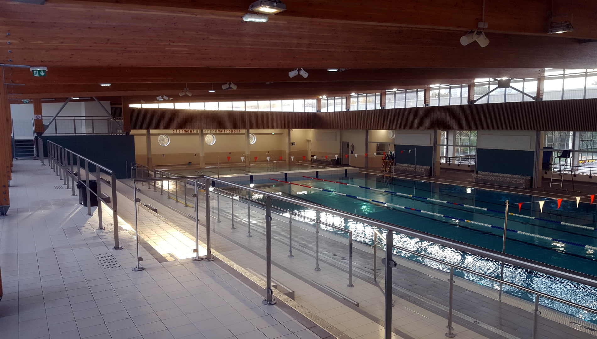 Stade Nautique Pierre Coubertin – Clermont-Ferrand (63 ... destiné Piscine Coubertin Clermont