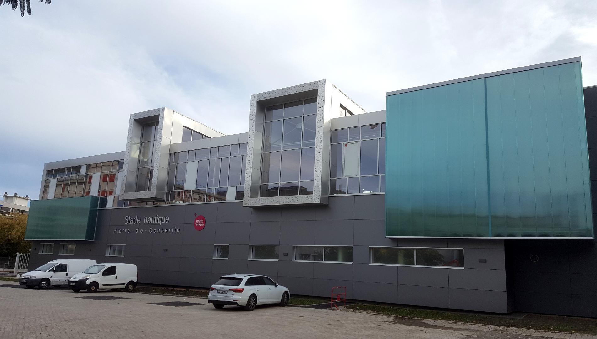 Stade Nautique Pierre Coubertin – Clermont-Ferrand (63 ... pour Piscine Coubertin Clermont
