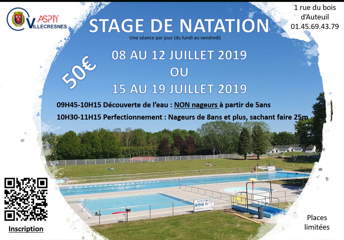Stage Natation | Asptt Villecresnes intérieur Piscine Villecresnes