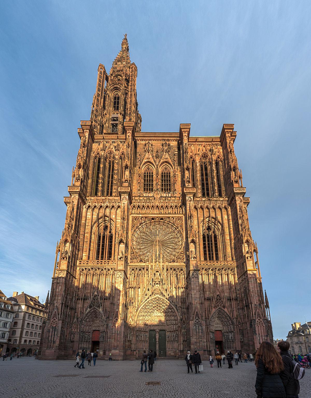 Strasbourg Cathedral - Wikipedia pour Piscine Zodiac Occasion
