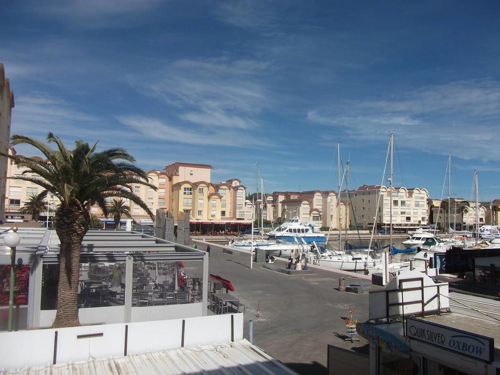Studio Sur Le Port, Climatisation, Wifi, Piscine., Gruissan ... avec Piscine Gruissan