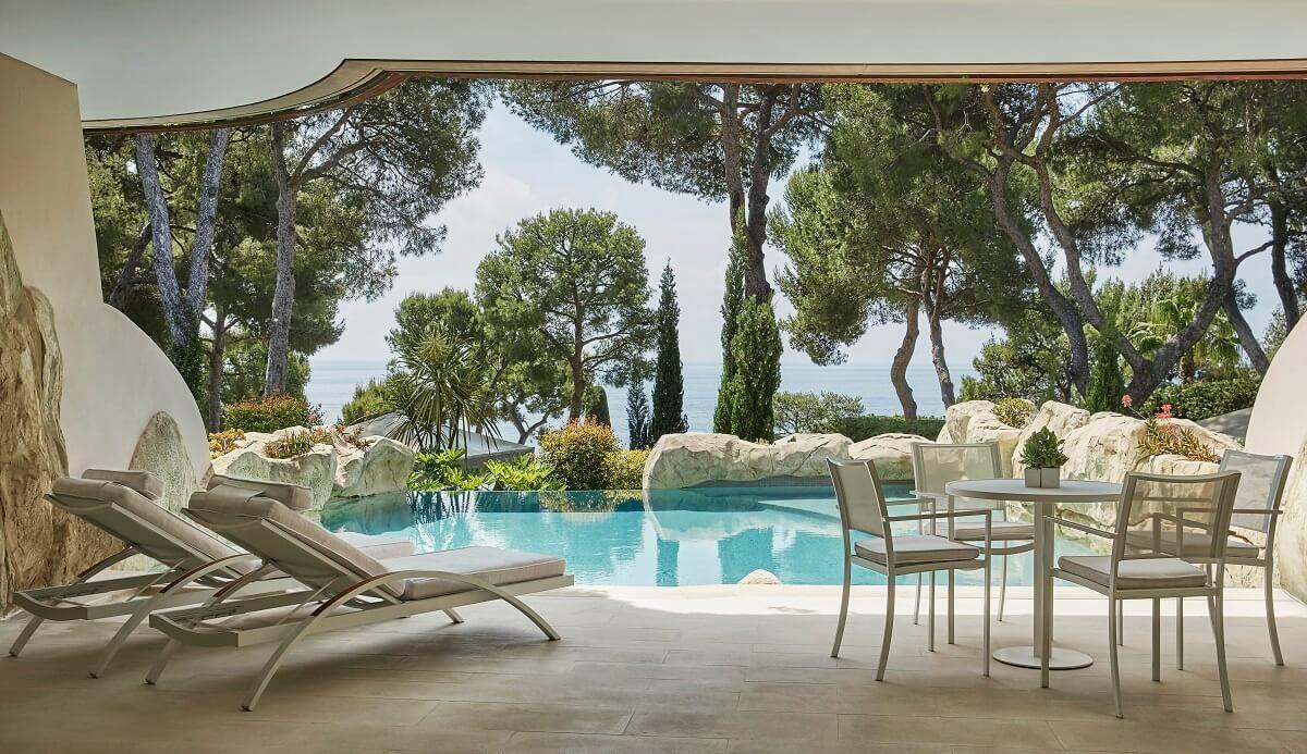 Suite Avec Piscine Privée Au Grand Hôtel Du Cap-Ferrat ... avec Hotel Avec Piscine Ile De France