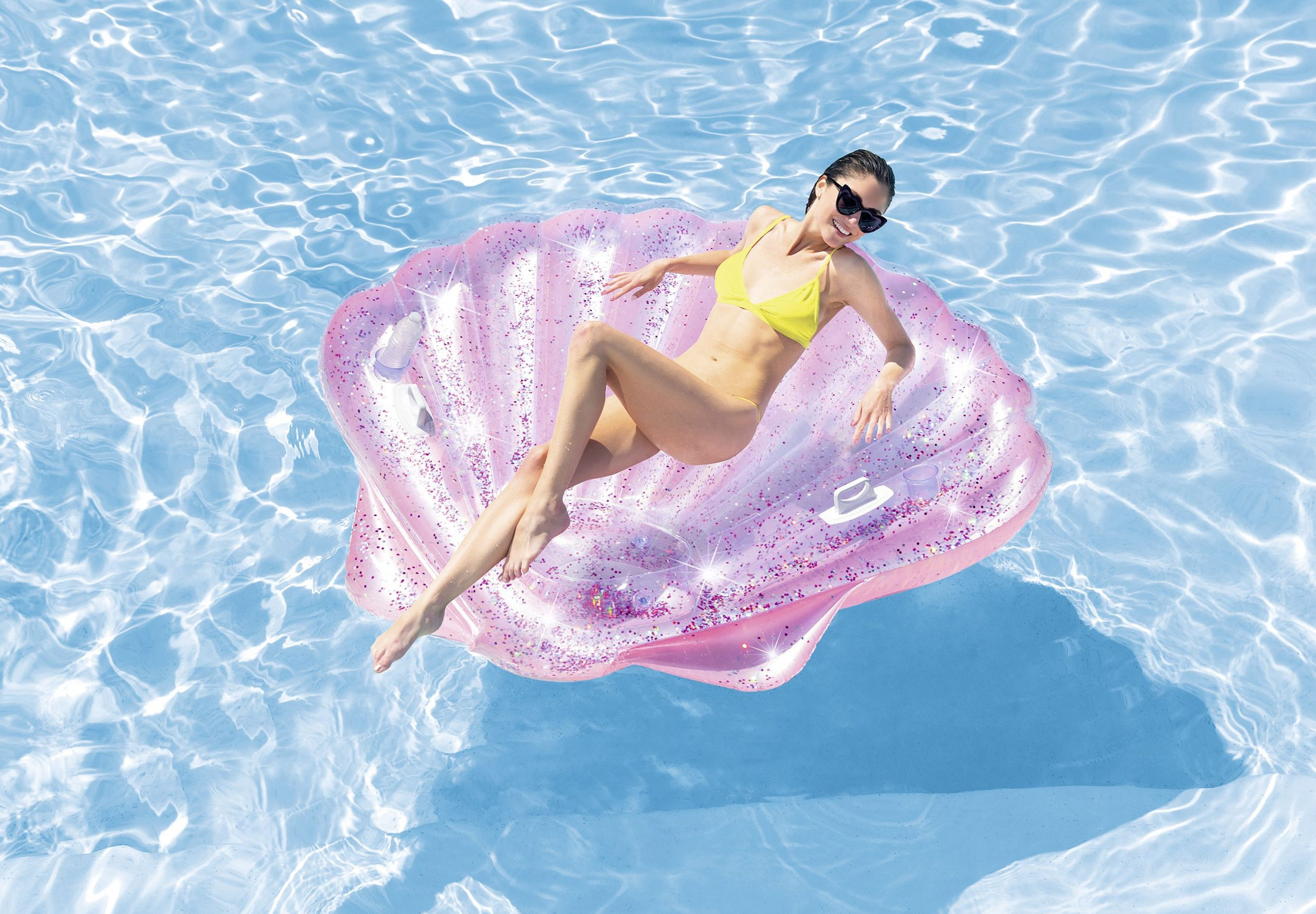 Summer #piscine #plage #intex #détente #coquillage ... intérieur Piscine Coquillage