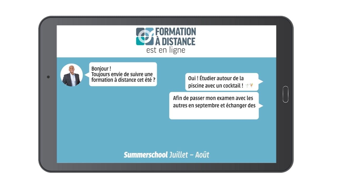 Summerschool Horizontaal - Centre De Formation À Distance encequiconcerne Formation Pisciniste
