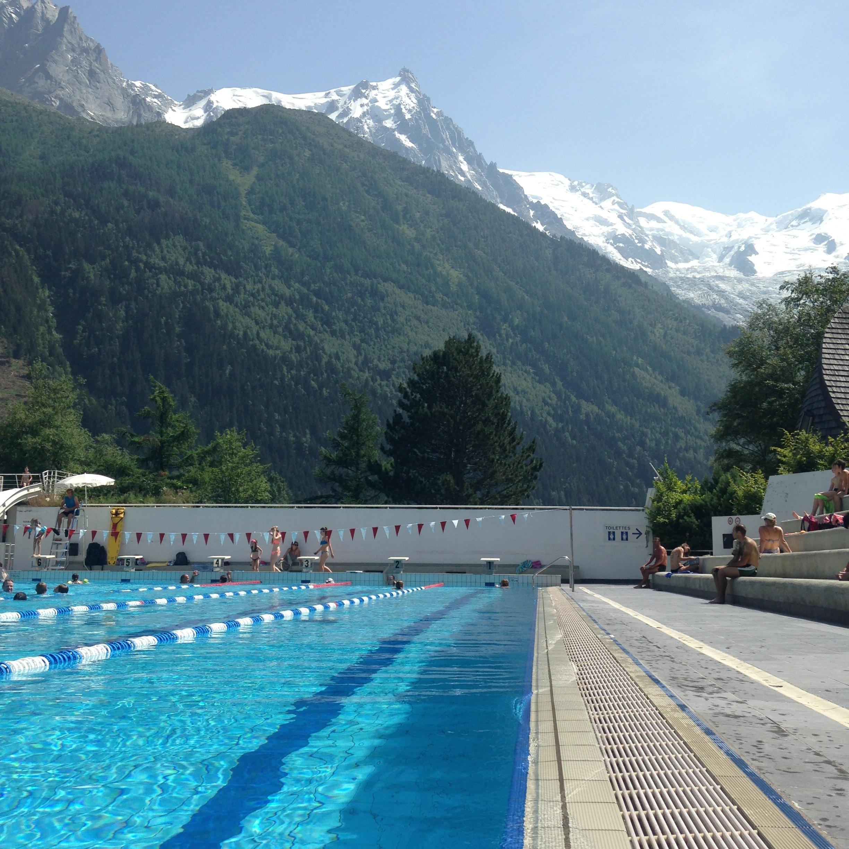 Summertime À La Montagne | Le Cerf Blanc concernant Piscine De Chamonix