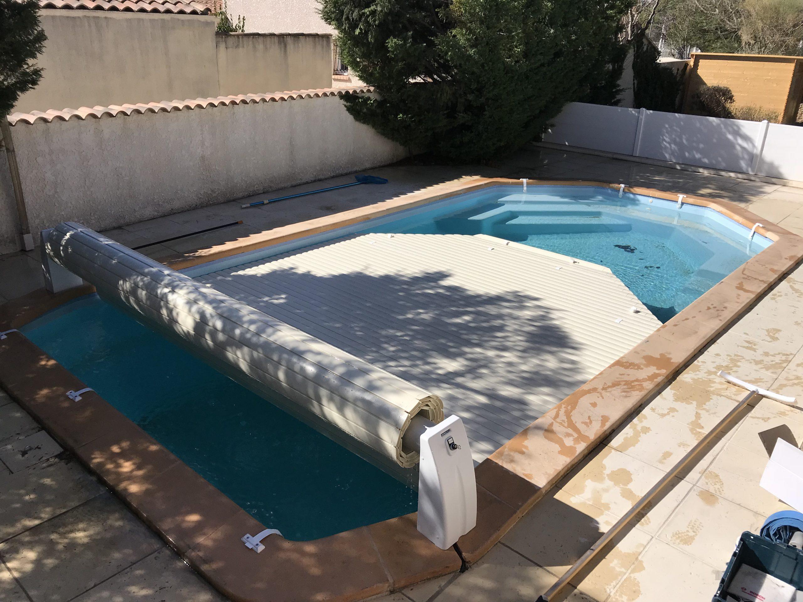 Sun Pool Piscine - Volet Roulant pour Volet Roulant Piscine Hors Sol