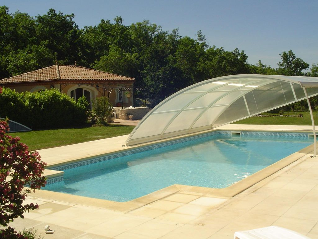 Sunny Holiday In The Quiet Countryside With Pool - Lalbenque encequiconcerne Piscine 10X5