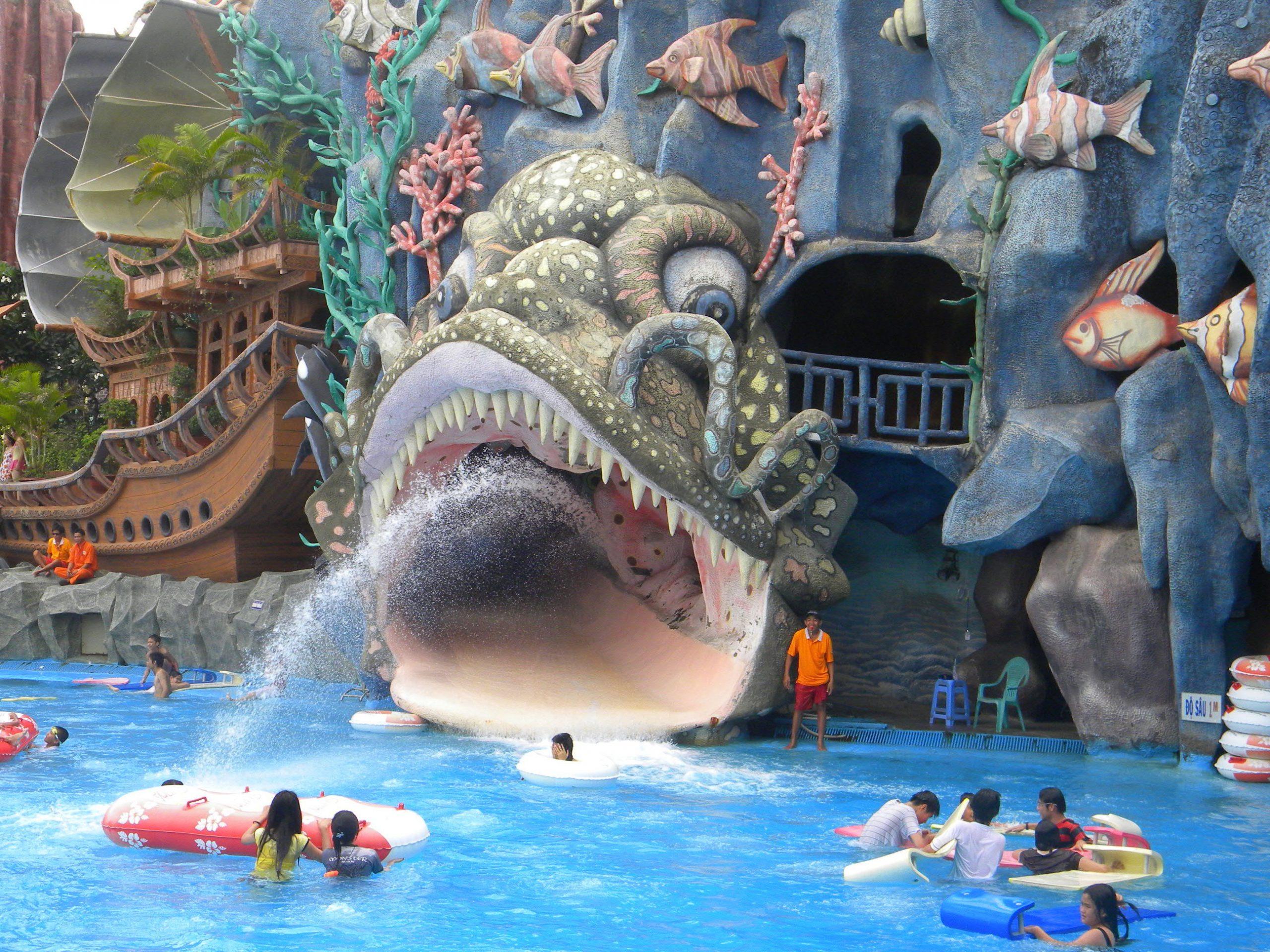Suối Tiên Amusement Park - Theme Park In Ho Chi Minh City ... serapportantà Piscine Aquaboulevard