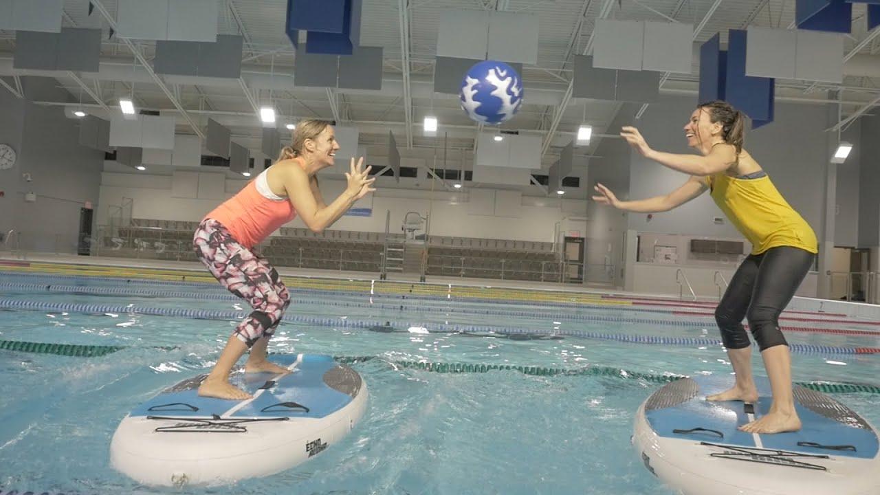 Sup Surf Fitness Minifit Sup destiné Aloha Piscine