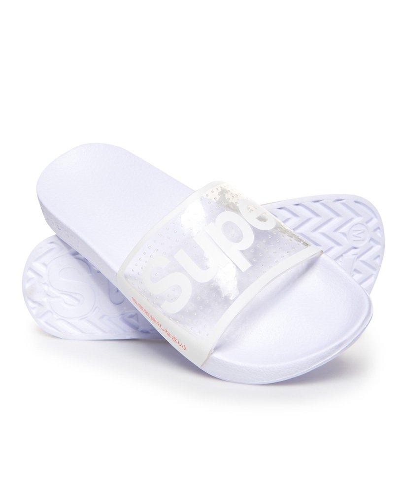 Superdry Sandales De Piscine Perforées Jelly - Femme Claquettes intérieur Sandales De Piscine