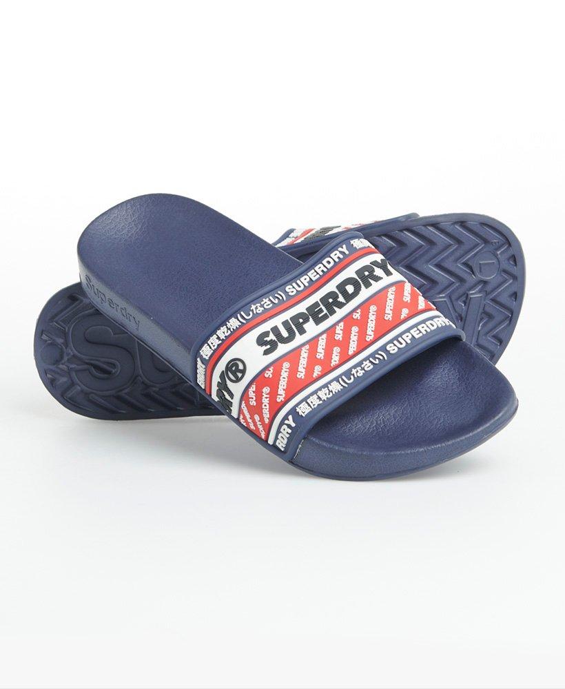 Superdry Sandales De Piscine Retro - Femme Claquettes concernant Sandales De Piscine