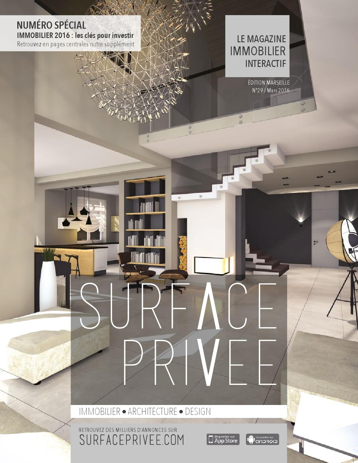 Surfaceprivee Marseille 29 By Sunmade - Issuu tout Dimension Piscine Non Imposable