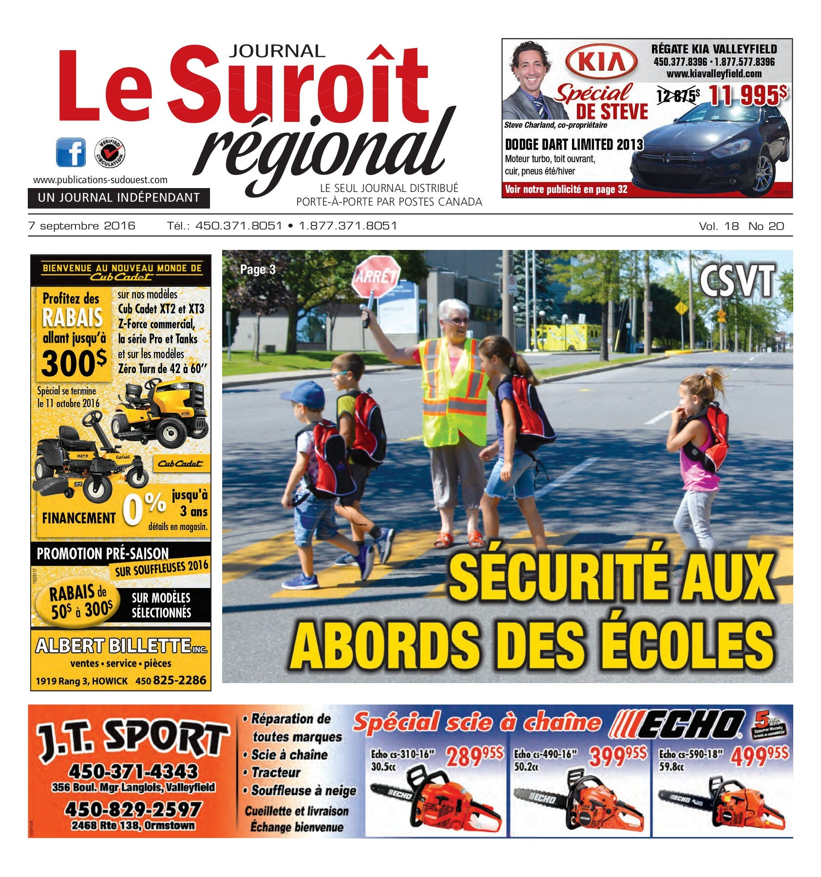 Suroit 7 Septembre 2016 Pages 1 - 32 - Text Version | Fliphtml5 dedans Cash Piscine Bourgoin