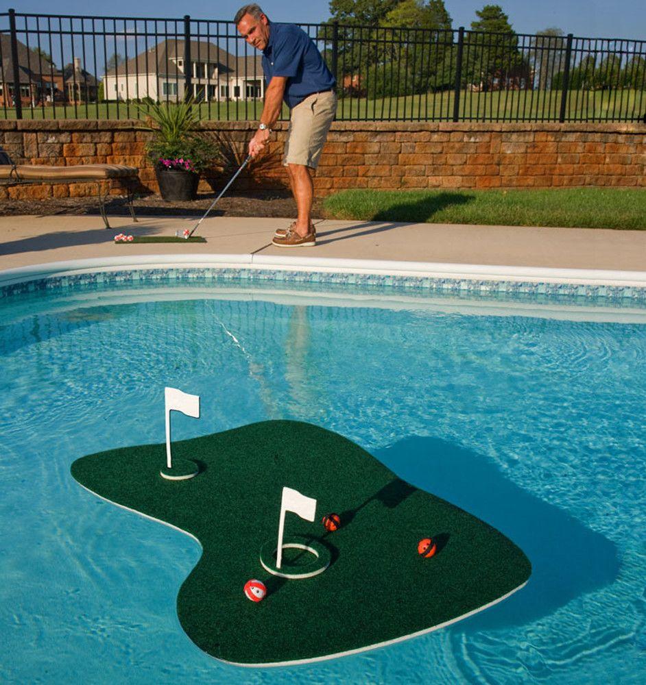 Swim Time Aqua Golf Backyard Golf Game. See  ... concernant Piscine Originale