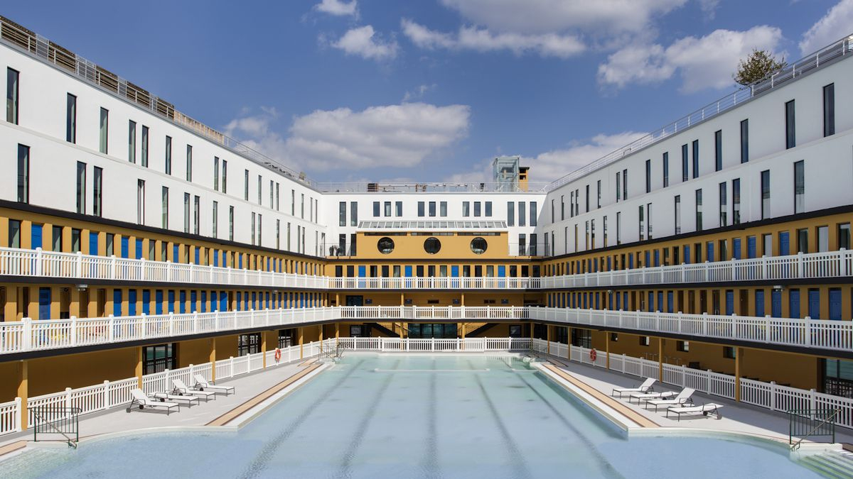 Swimming In Luxury: An Iconic Pool Is Reborn In Paris - The ... pour Hotel Paris Piscine